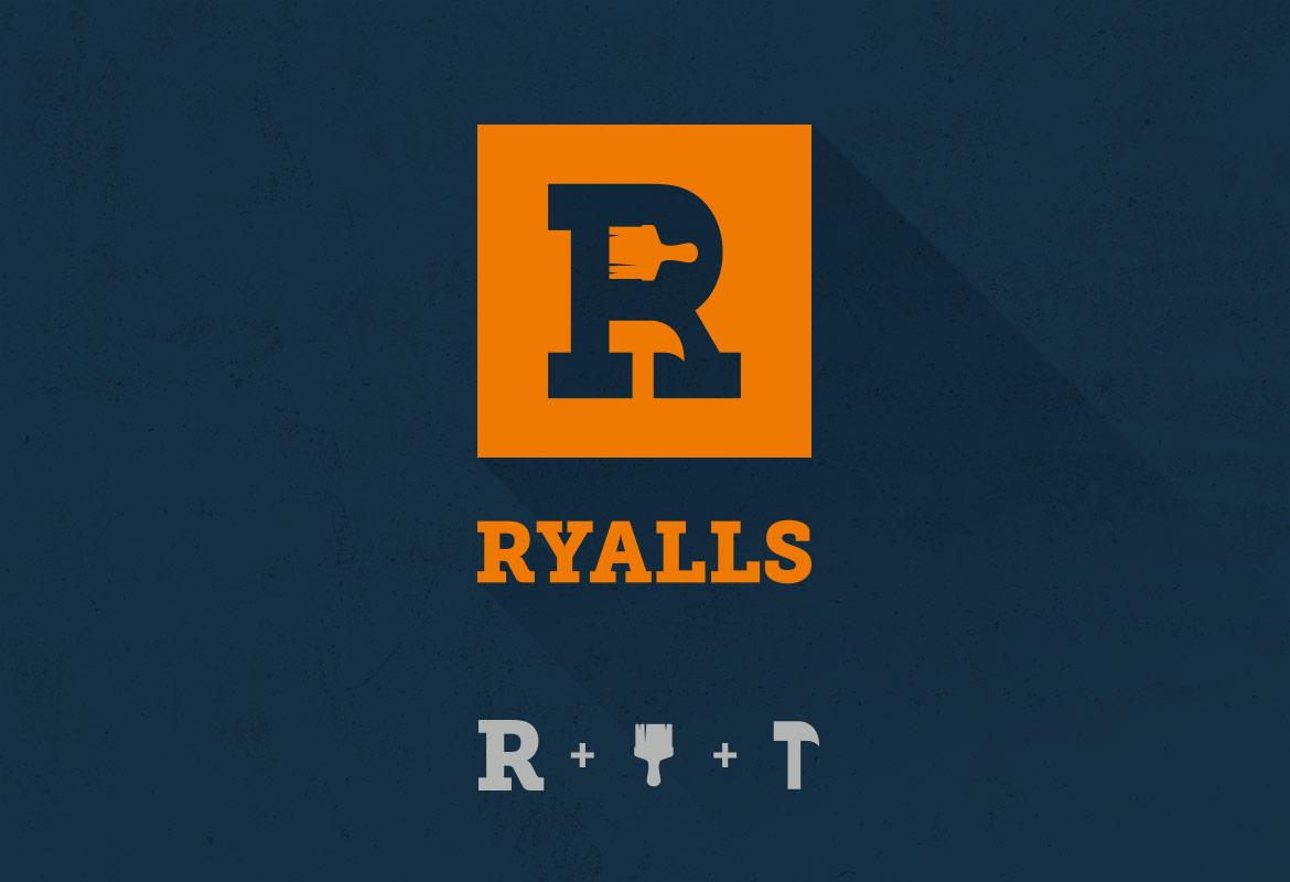 Ryalls Logo Development