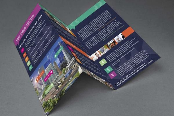 Costain Tri-Fold Leaflet